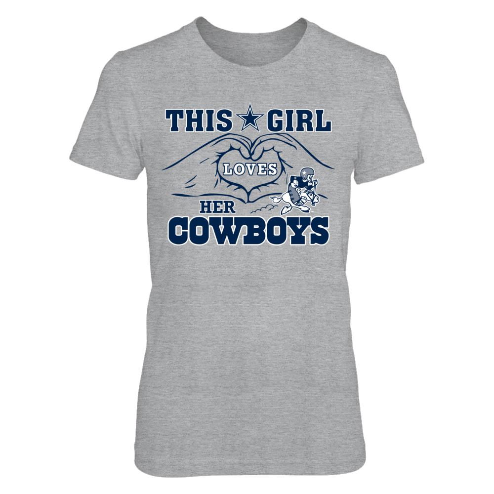 Dallas Cowboys - This Girl Loves Her Cowboys Front picture
