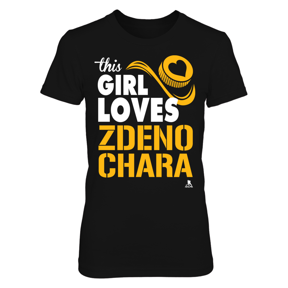 Zdeno Chara - This Girl Loves Front picture