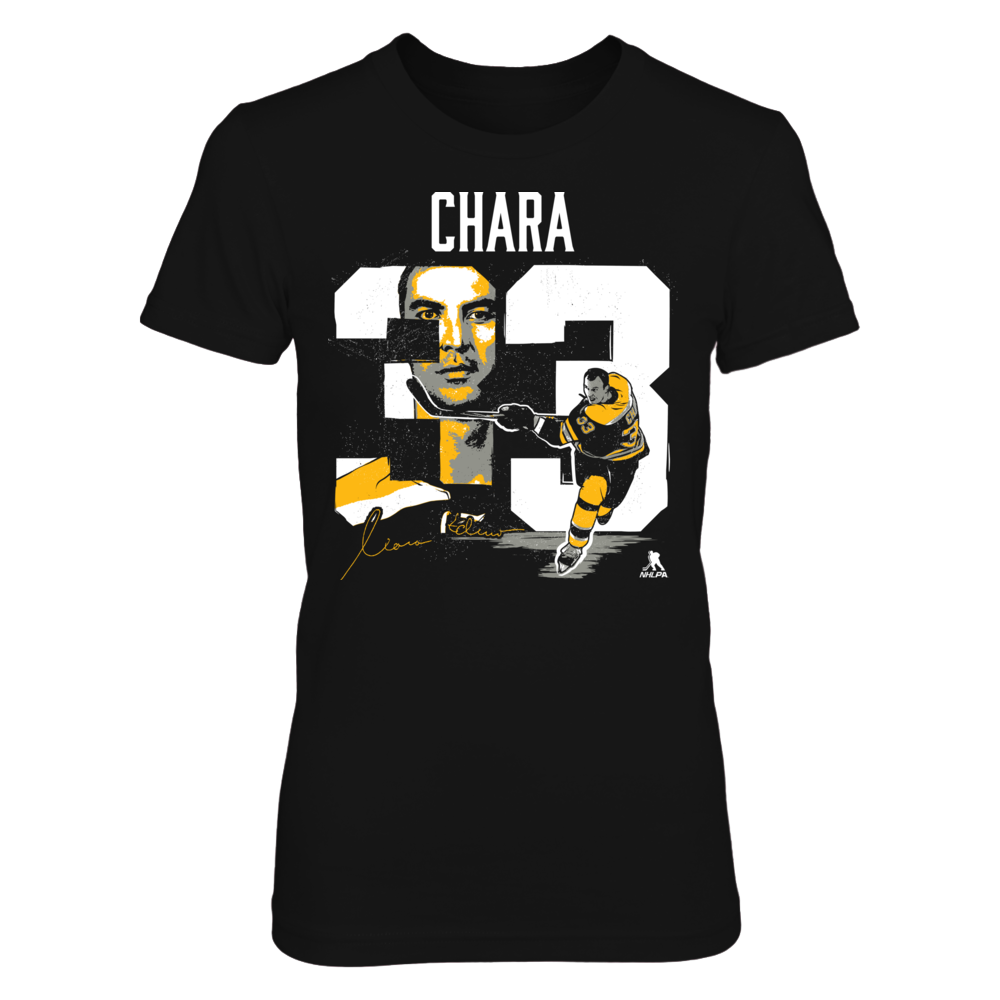 Zdeno Chara - Player Number Front picture