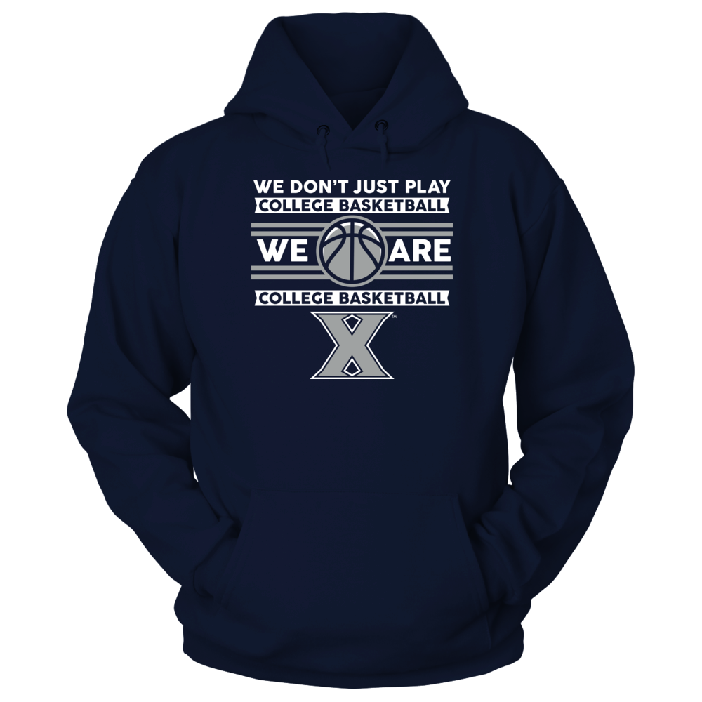 Xavier Musketeers - We Don't Just Play Basketball Front picture
