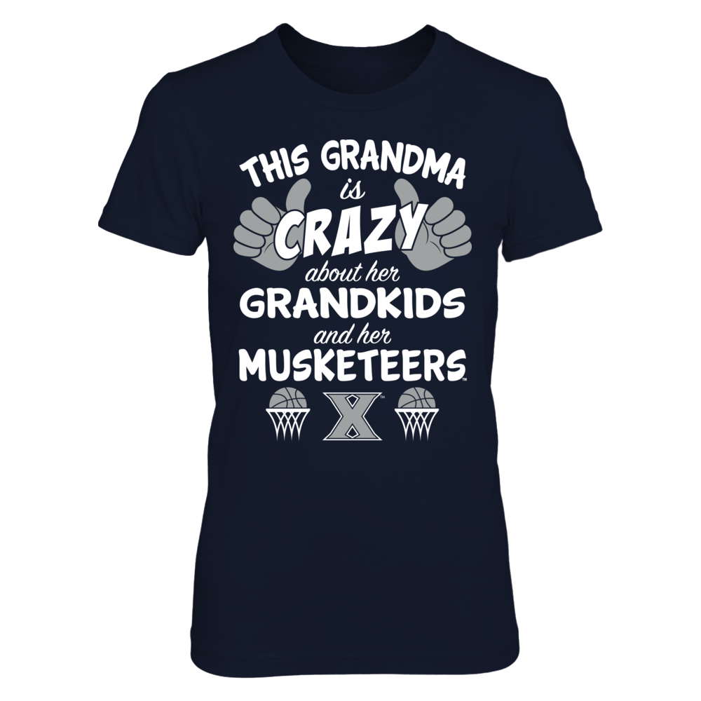 Xavier Musketeers - This Grandma Is Crazy Basketball Front picture