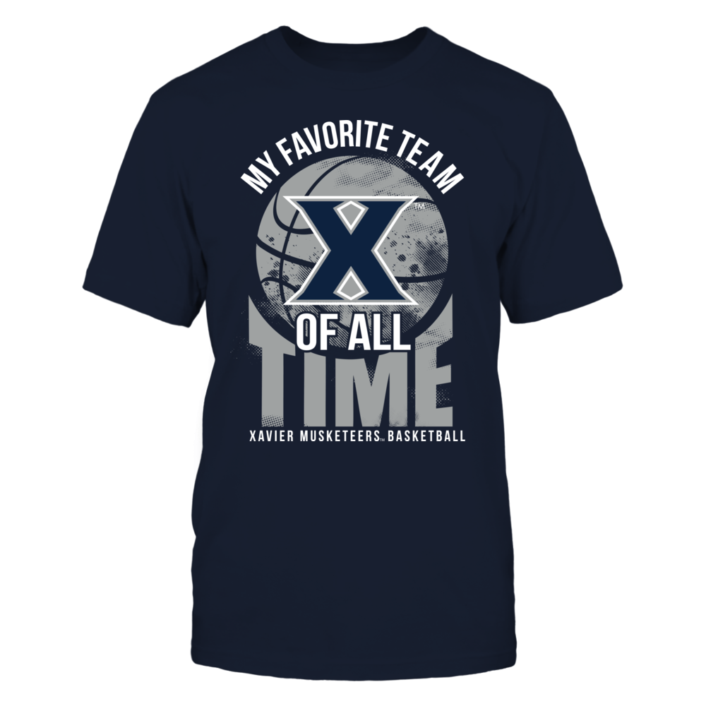 Xavier Musketeers - Favorite Team Of All Time Front picture