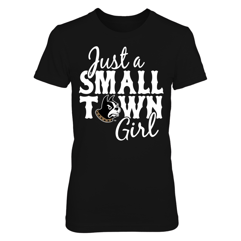 Wofford Terriers Wofford Terriers - Just A Small Town Girl FanPrint