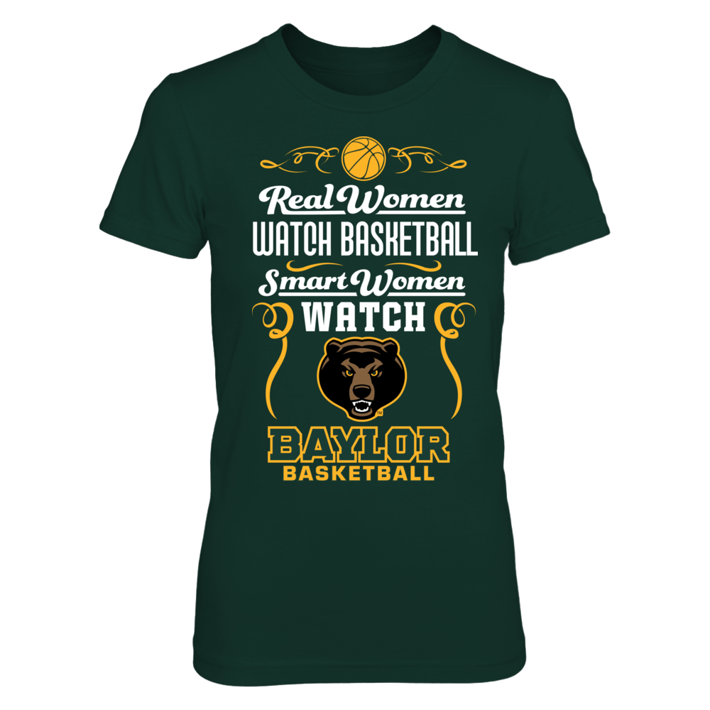 Baylor Bears - Real Women Smart Women Basketball Front picture