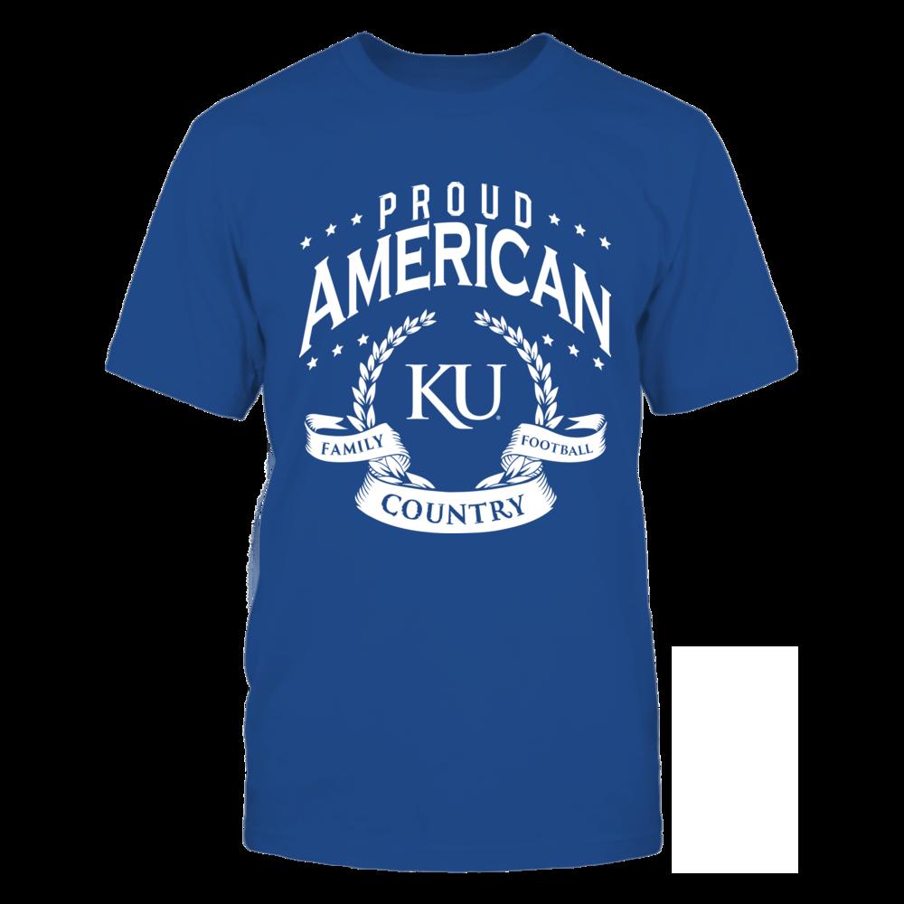 Kansas Jayhawks Family Football Country Kansas FanPrint