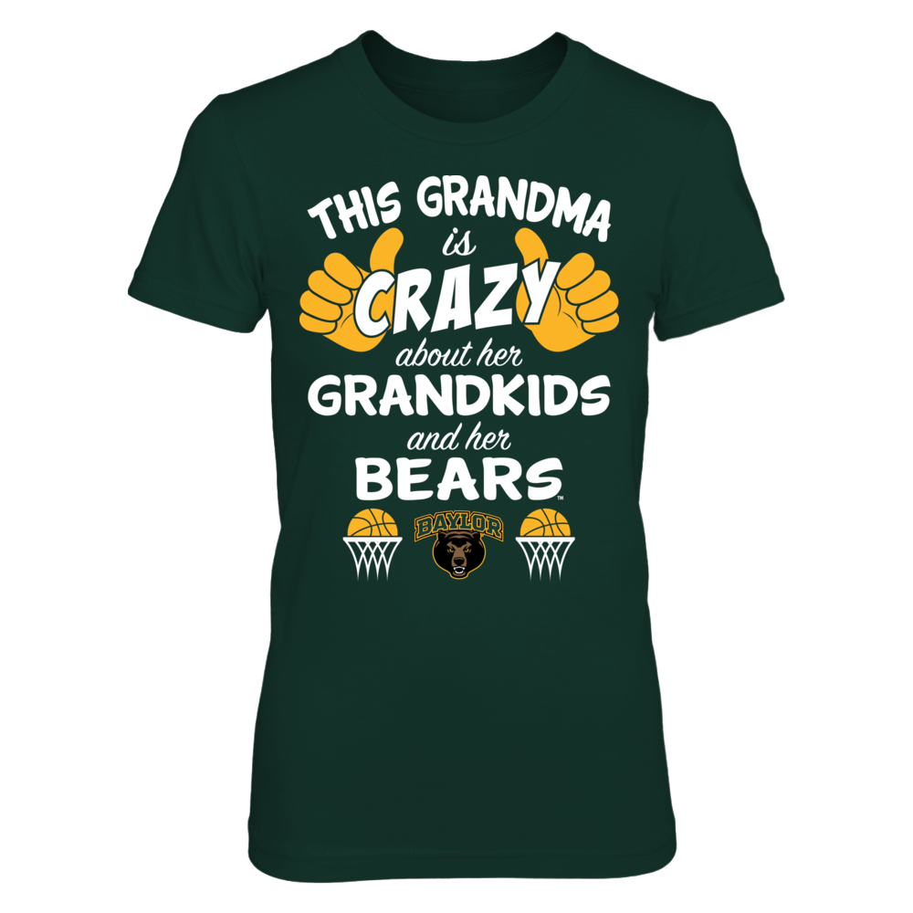 Baylor Bears - This Grandma Is Crazy Basketball Front picture