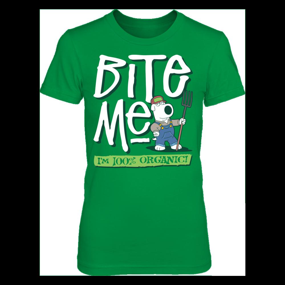 Family Guy Family Guy - Bite Me I'm Organic FanPrint