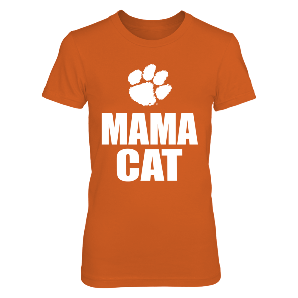 Mama Cat Clemson Front picture