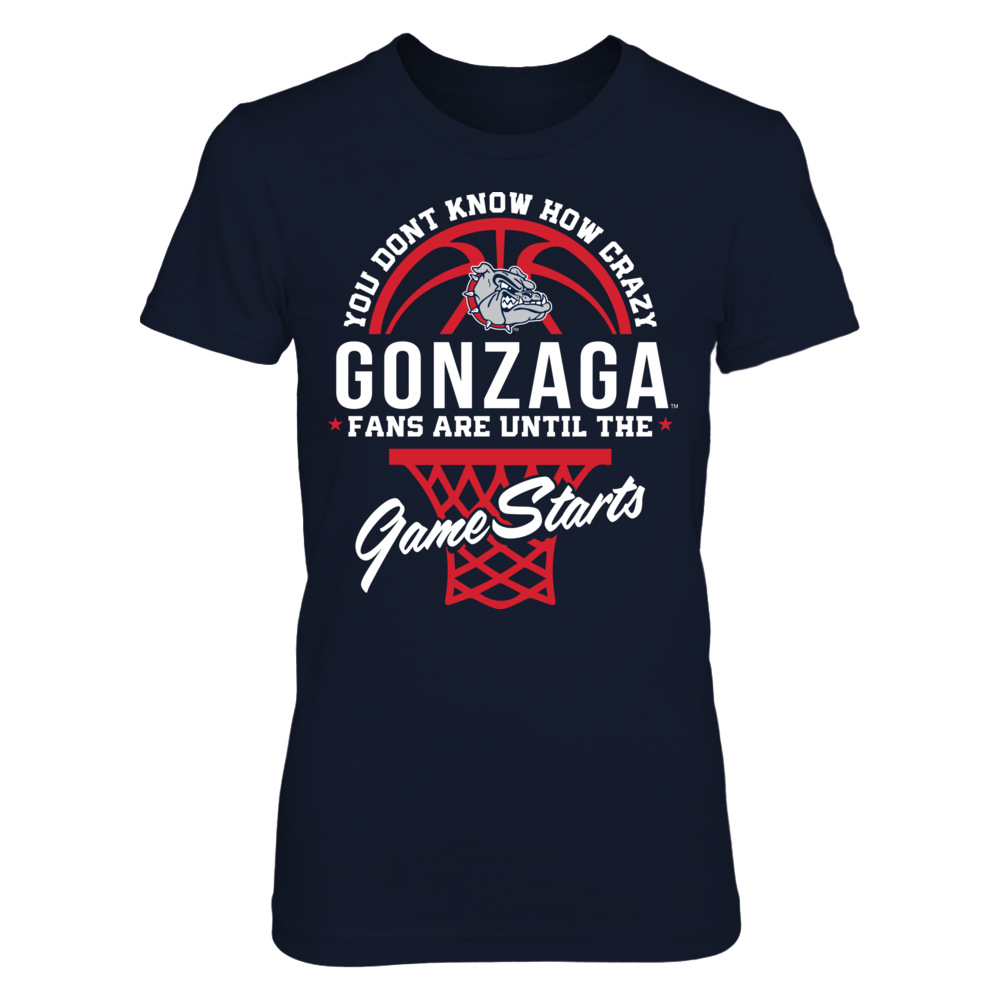 Gonzaga Bulldogs - Crazy Fans Front picture