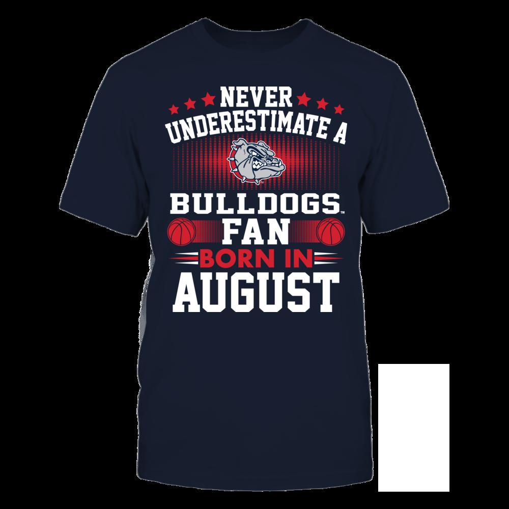 Gonzaga Bulldogs Gonzaga Bulldogs - Fan Born In August FanPrint