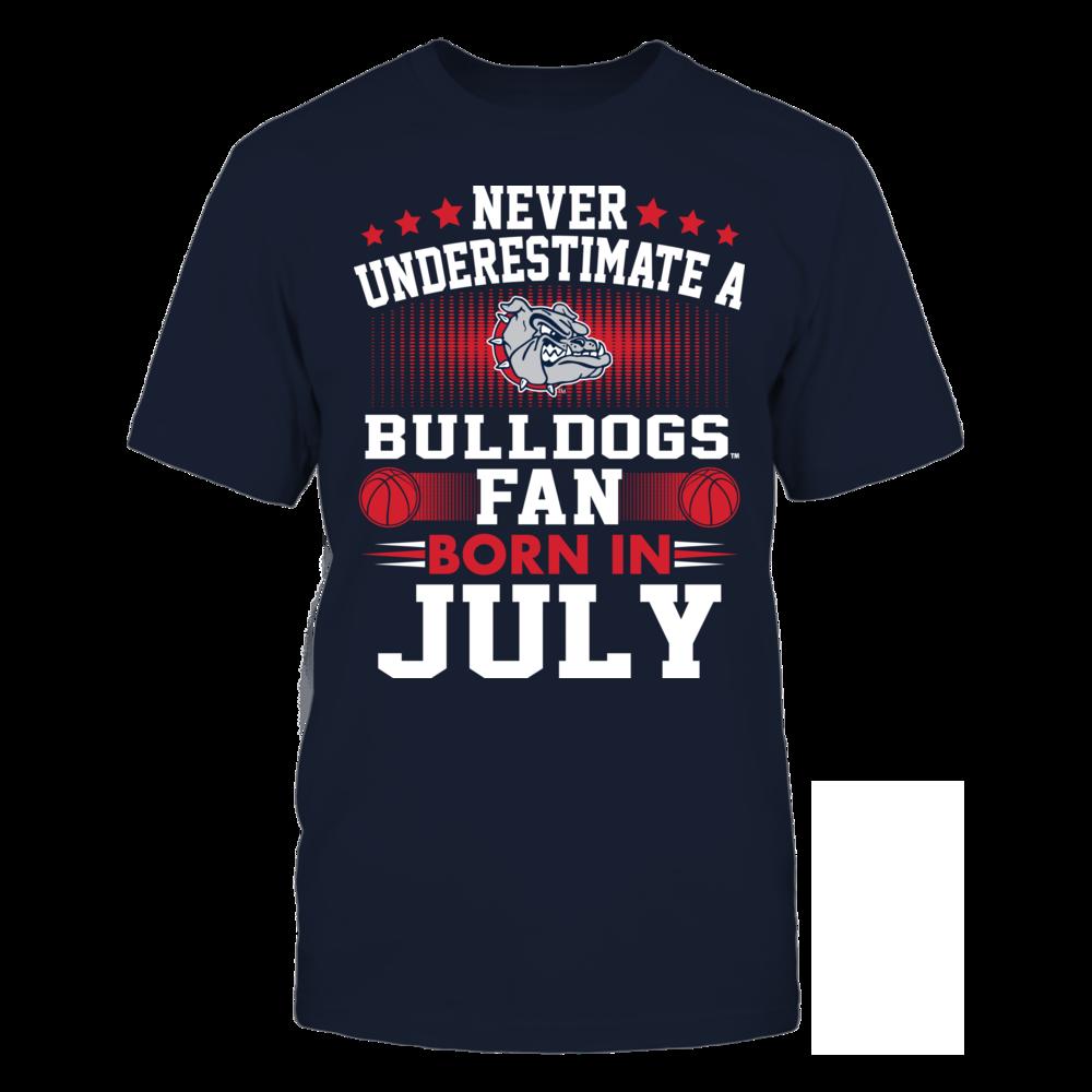 Gonzaga Bulldogs Gonzaga Bulldogs - Fan Born In July FanPrint