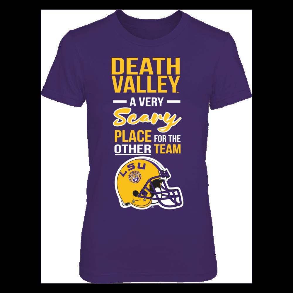 LSU Tigers LSU Louisiana State University - Death Valley FanPrint