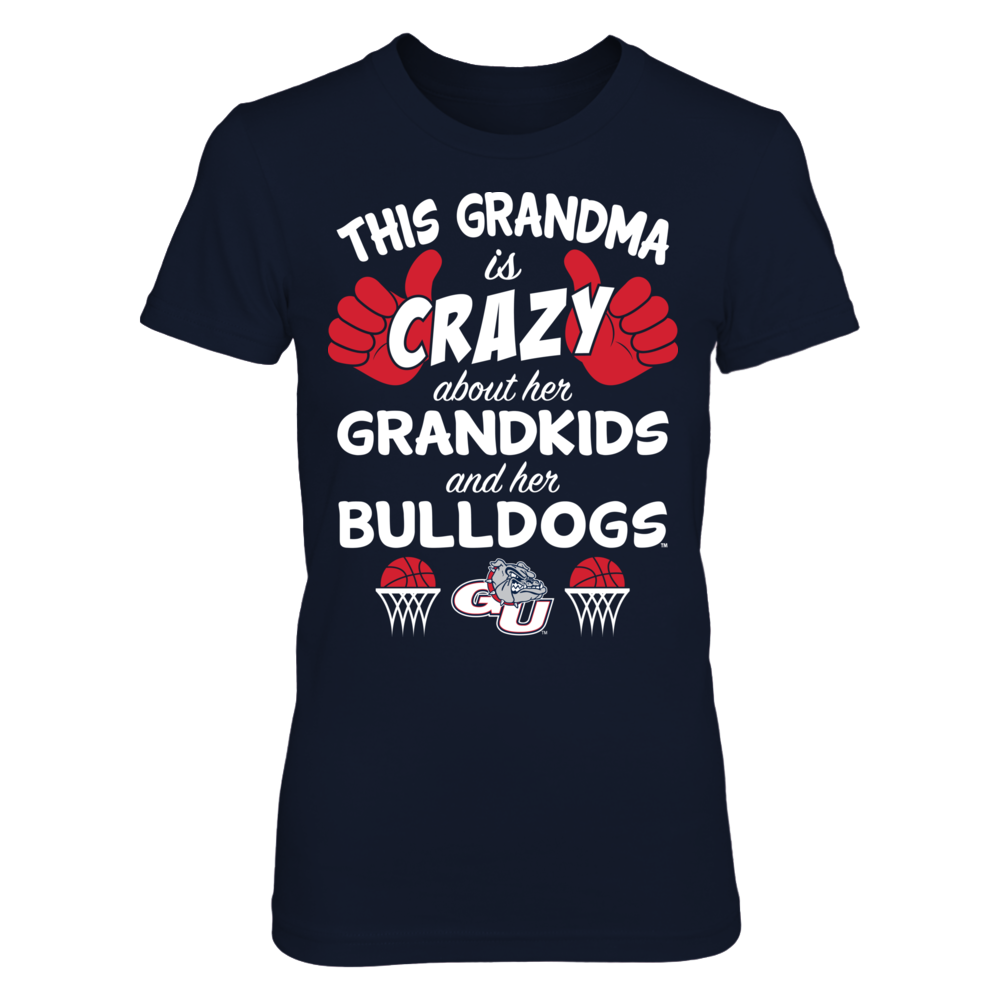 Gonzaga Bulldogs - This Grandma Is Crazy Basketball Front picture