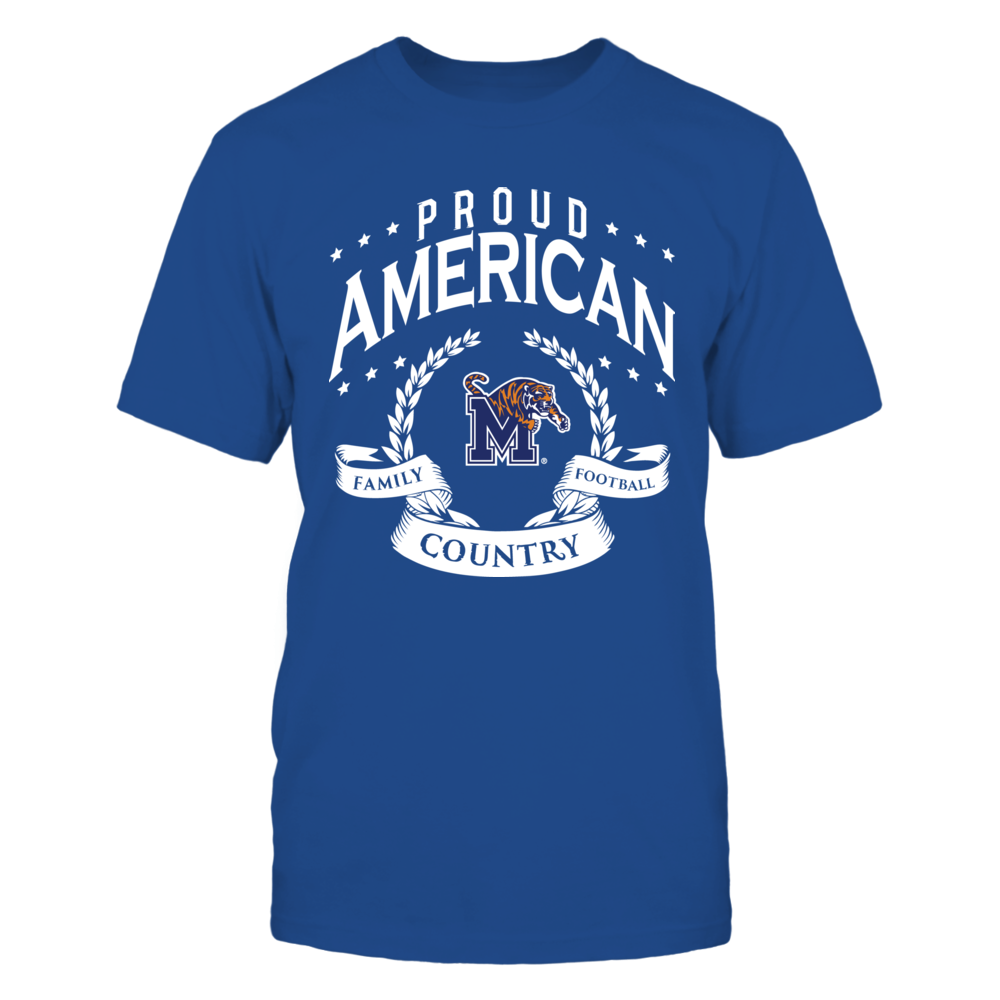 Proud American Memphis Tigers Front picture