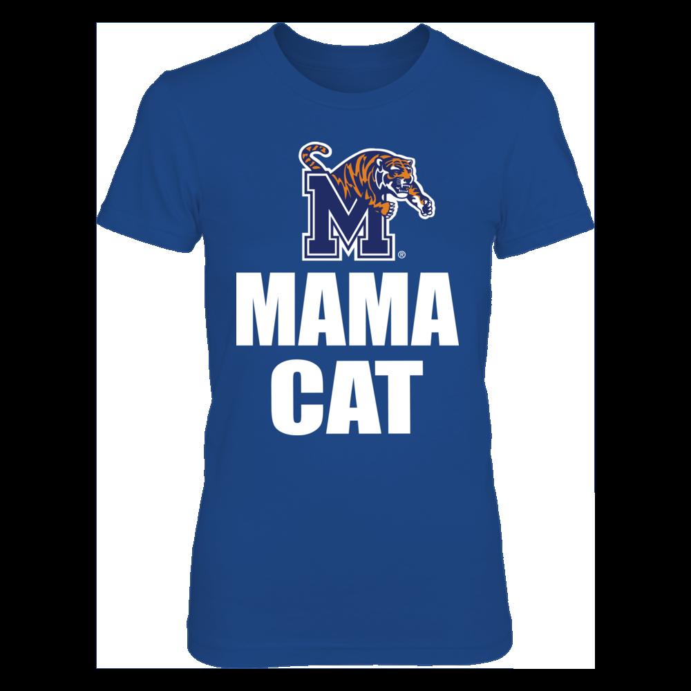 Memphis Tigers Mama Cat Memphis Tigers FanPrint