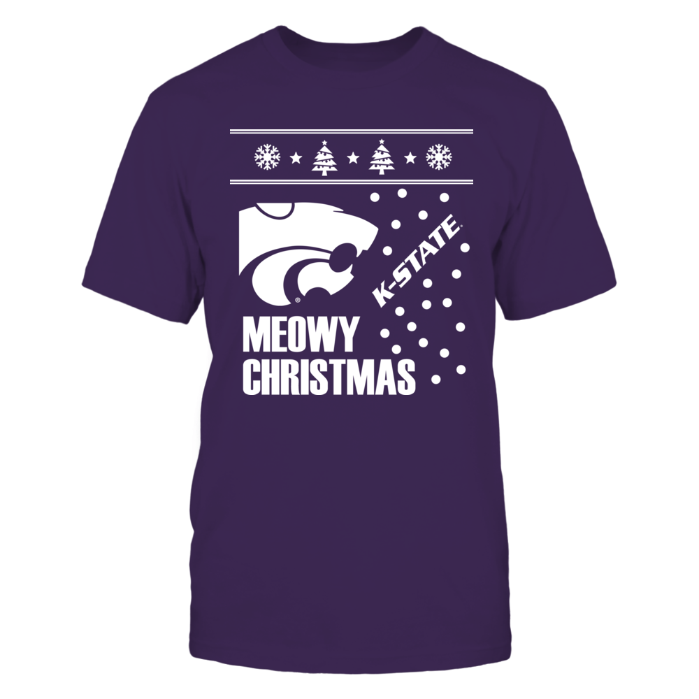Meowy Christmas Kansas State Front picture