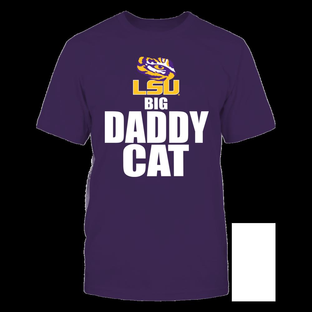 LSU Tigers Big Daddy Cat LSU FanPrint