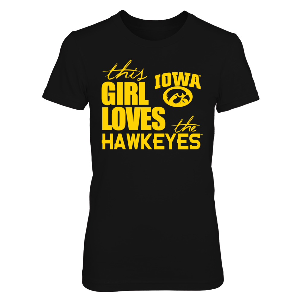 This Girl Loves The Hawkeyes Front picture