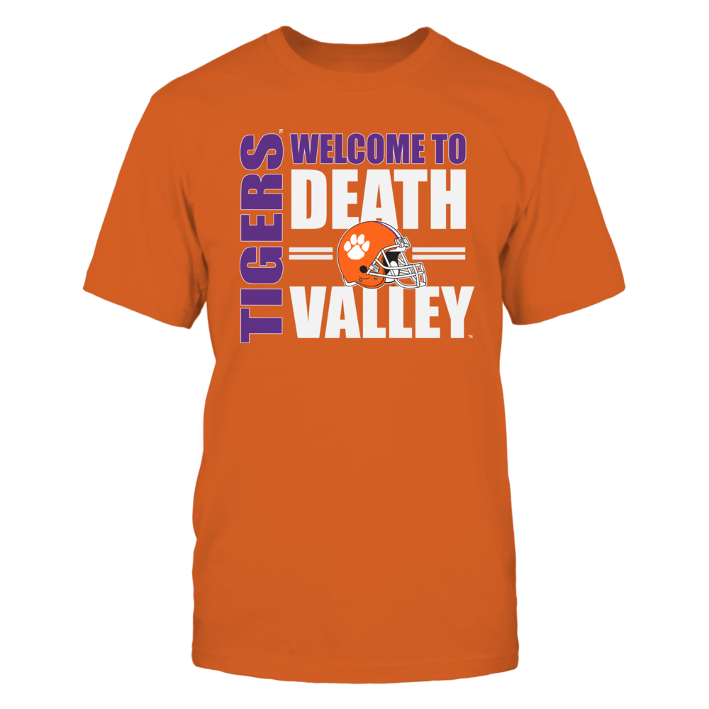 Clemson Tigers Clemson Tiger Football - Welcome to Death Valley FanPrint