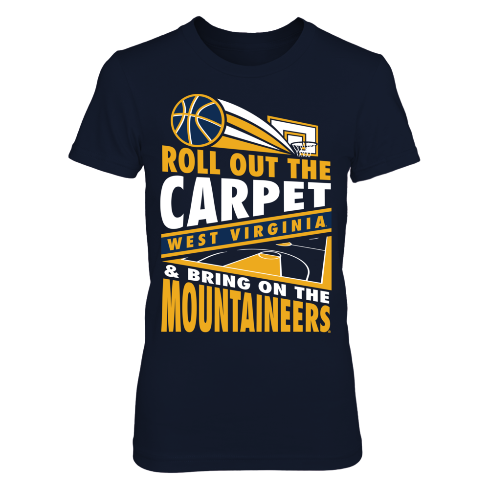 West Virginia Mountaineers West Virginia Mountaineers - Roll Out The Carpet V4 FanPrint