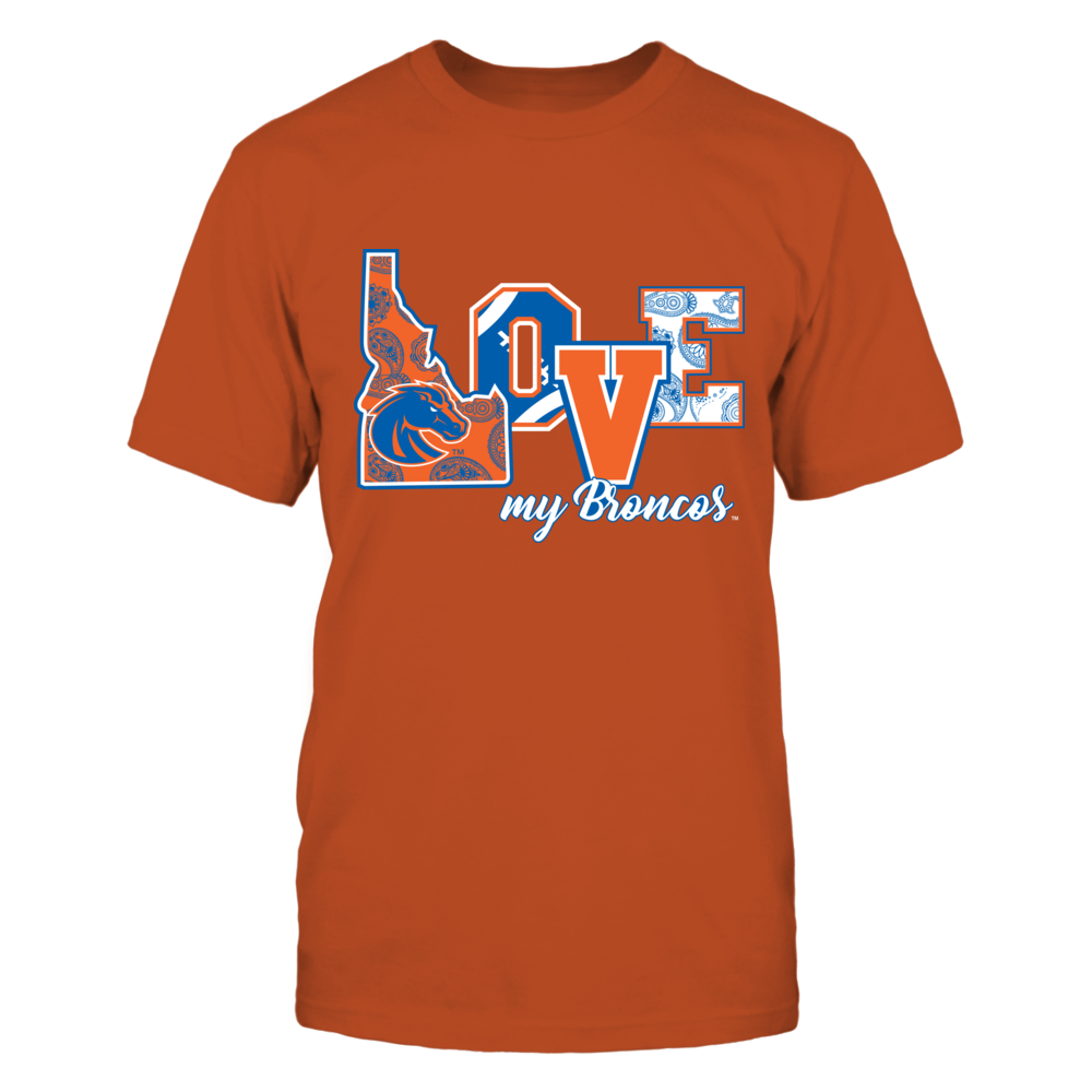 Boise State Broncos - Love My Broncos Front picture