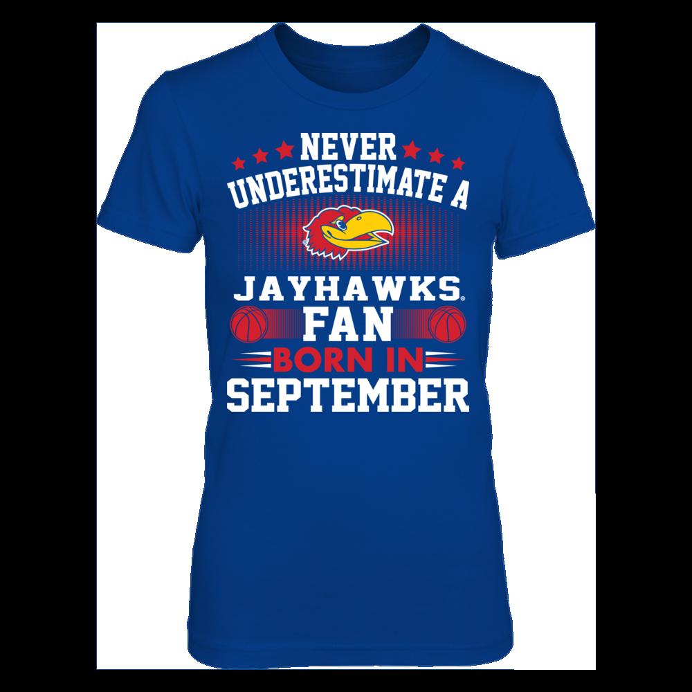 Kansas Jayhawks Kansas Jayhawks - Fan Born In September FanPrint
