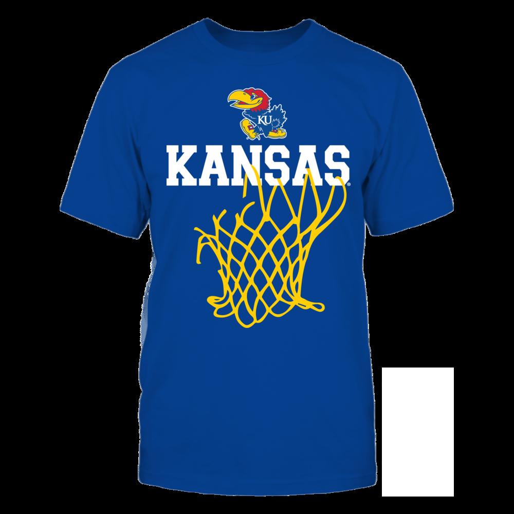 Kansas Jayhawks - Net Hanging Front picture
