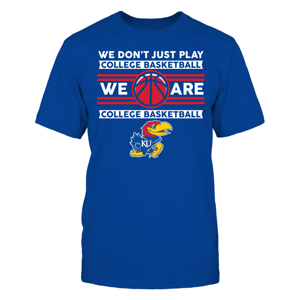 Kansas Jayhawks Kansas Jayhawks - We Don't Just Play Basketball FanPrint