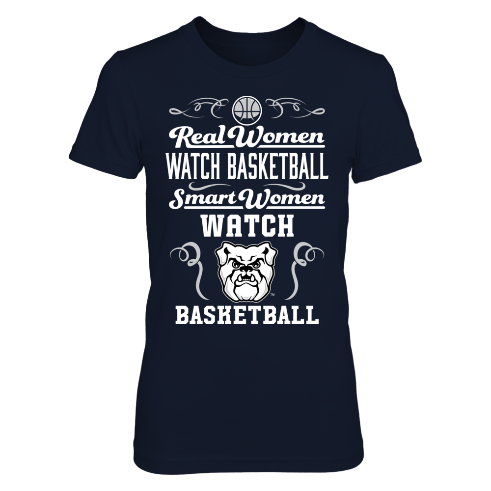 Butler Bulldogs - Real Women Smart Women Basketball Front picture