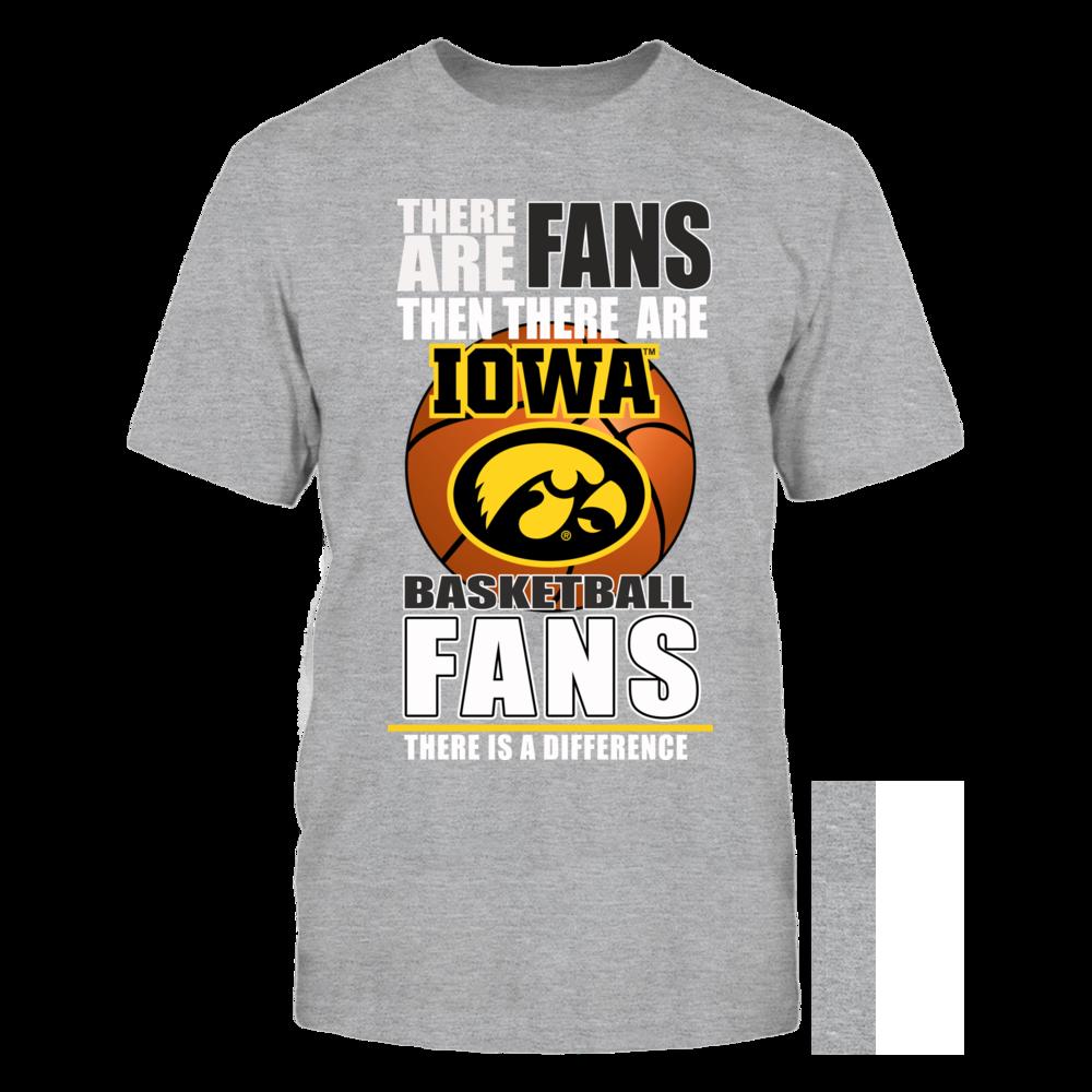 Iowa Hawkeyes University Iowa Basketball Fans FanPrint
