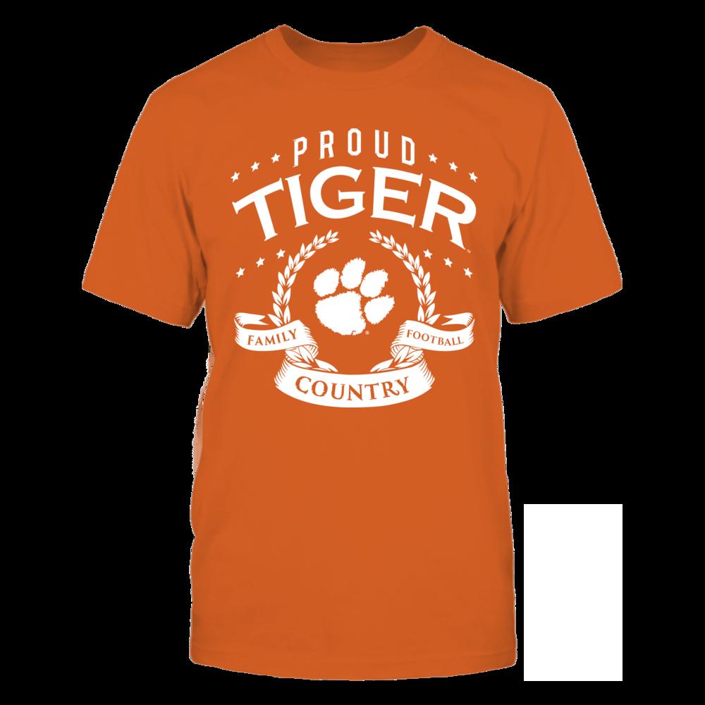 Clemson Tigers Proud Clemson Tiger FanPrint