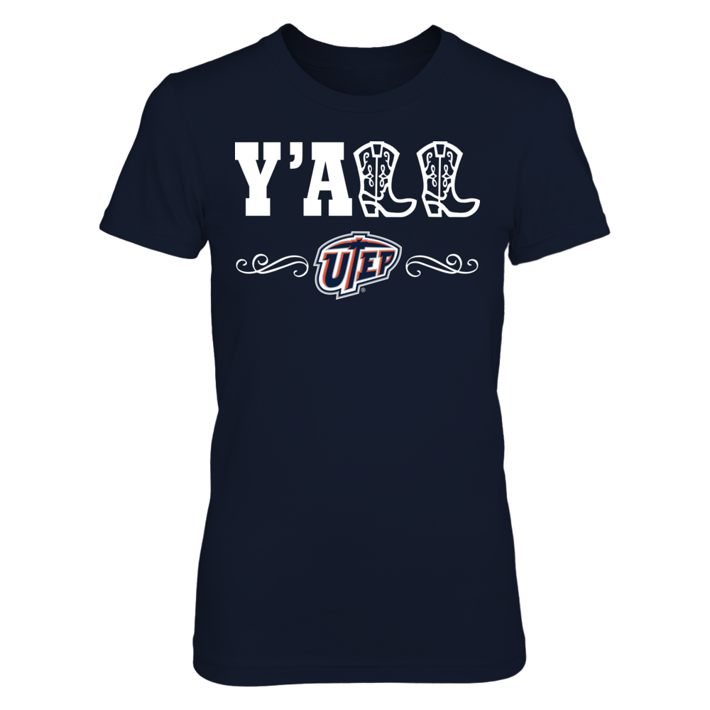 UTEP Miners UTEP Miners - Y'all With Boots FanPrint