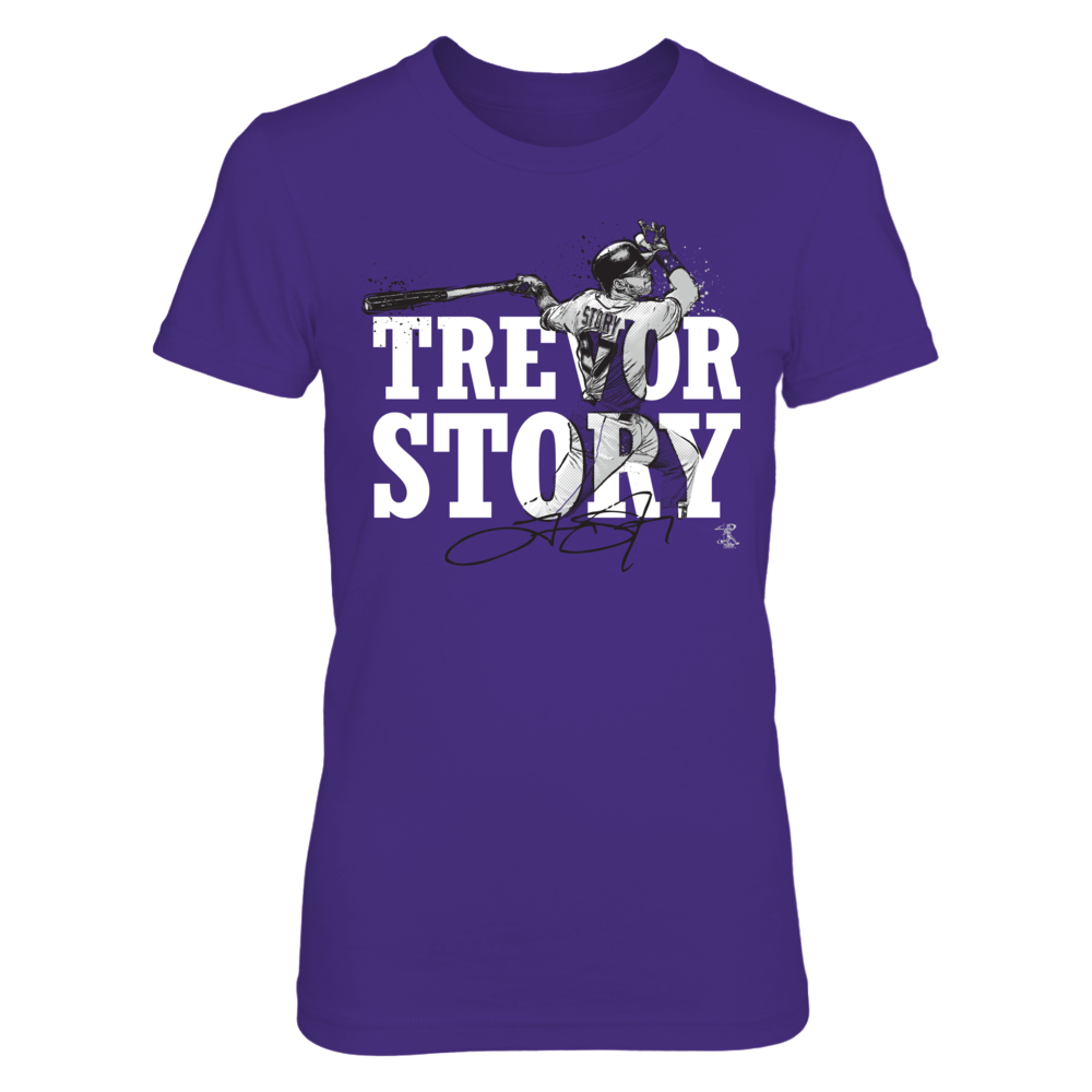 Trevor Story - Player Name Portrait Front picture
