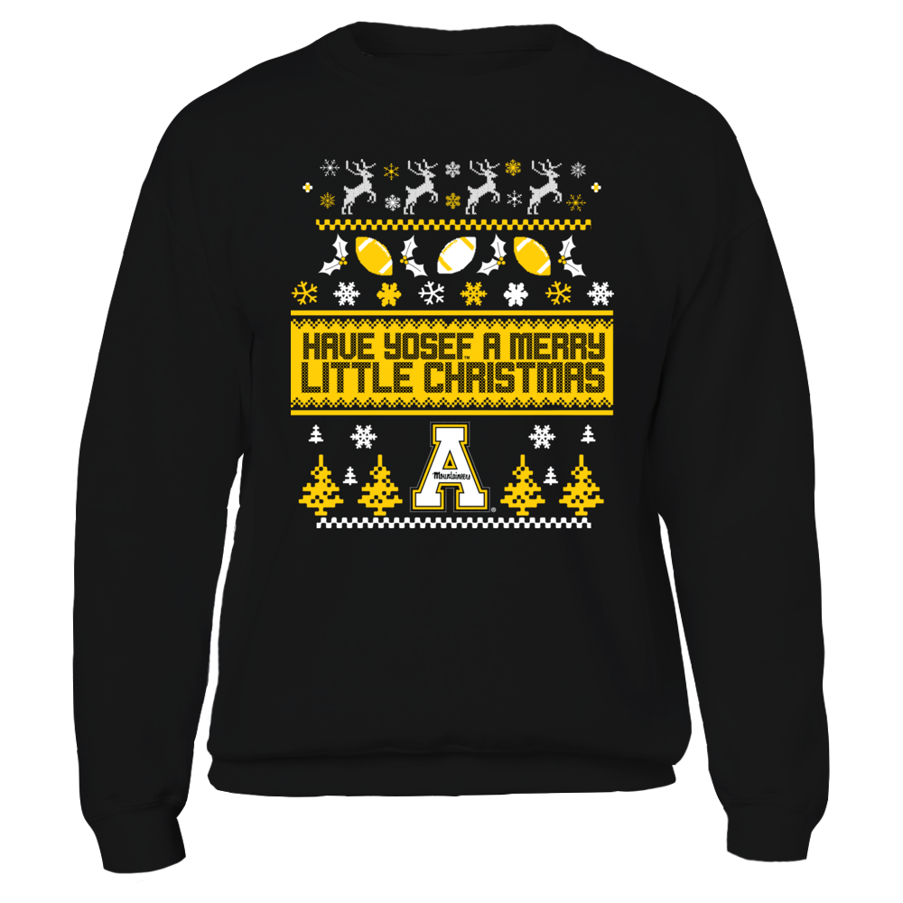 Appalachian State Mountaineers UGLY CHRISTMAS SWEATER DESIGN - APPALACHIAN STATE MOUNTAINEERS FanPrint
