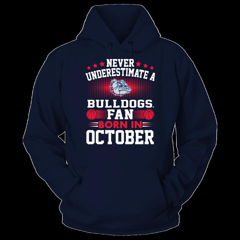 Gonzaga Bulldogs Gonzaga Bulldogs - Fan Born In October FanPrint