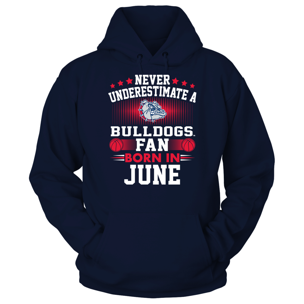 Gonzaga Bulldogs - Fan Born In June Front picture