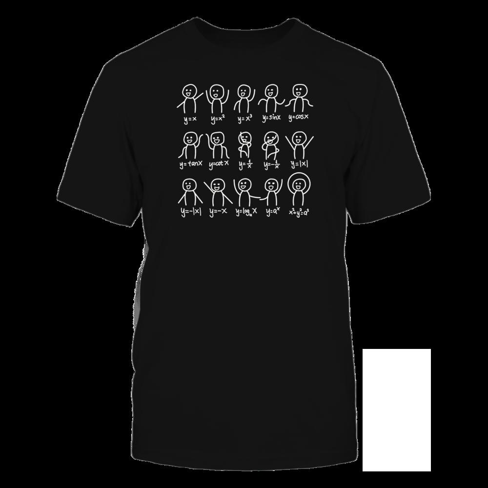 TShirt Hoodie Algebra Dance Funny Math Equation T-shirt FanPrint