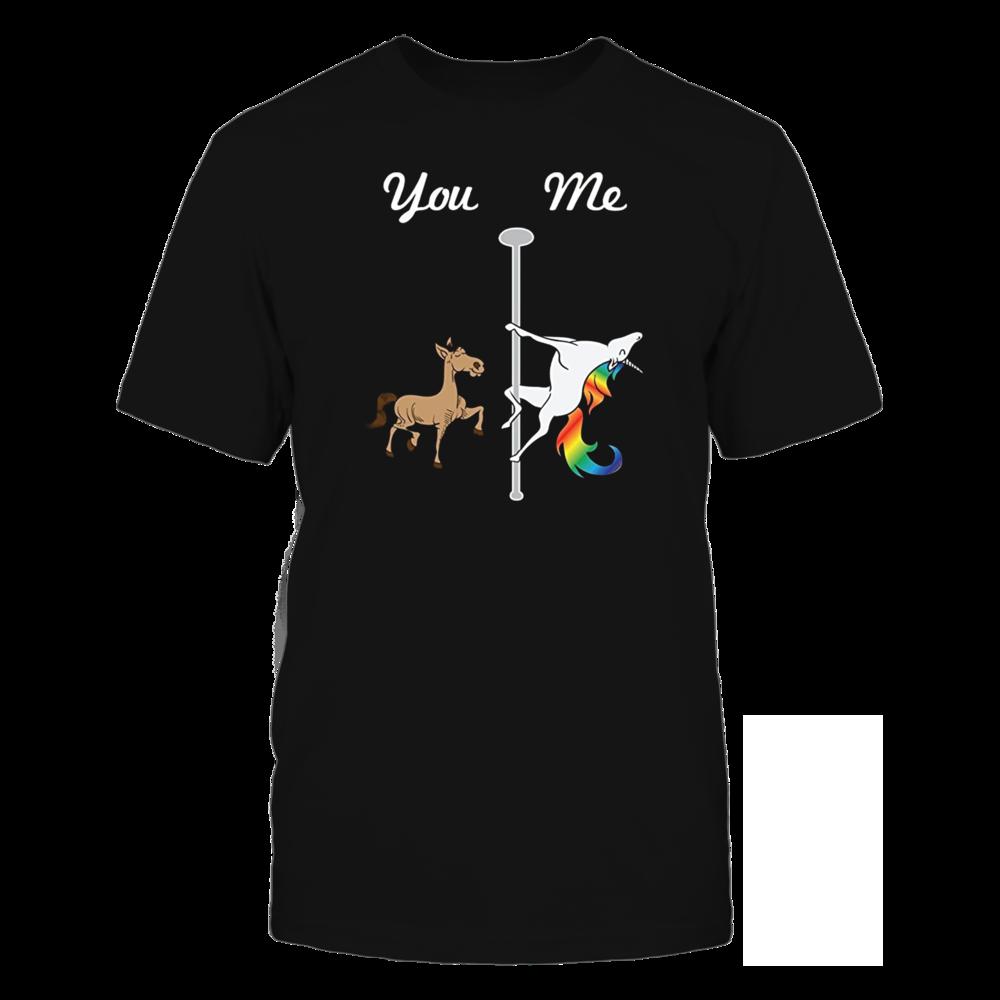 TShirt Hoodie Cute You Me Pole Dancing Unicorn T-Shirt FanPrint