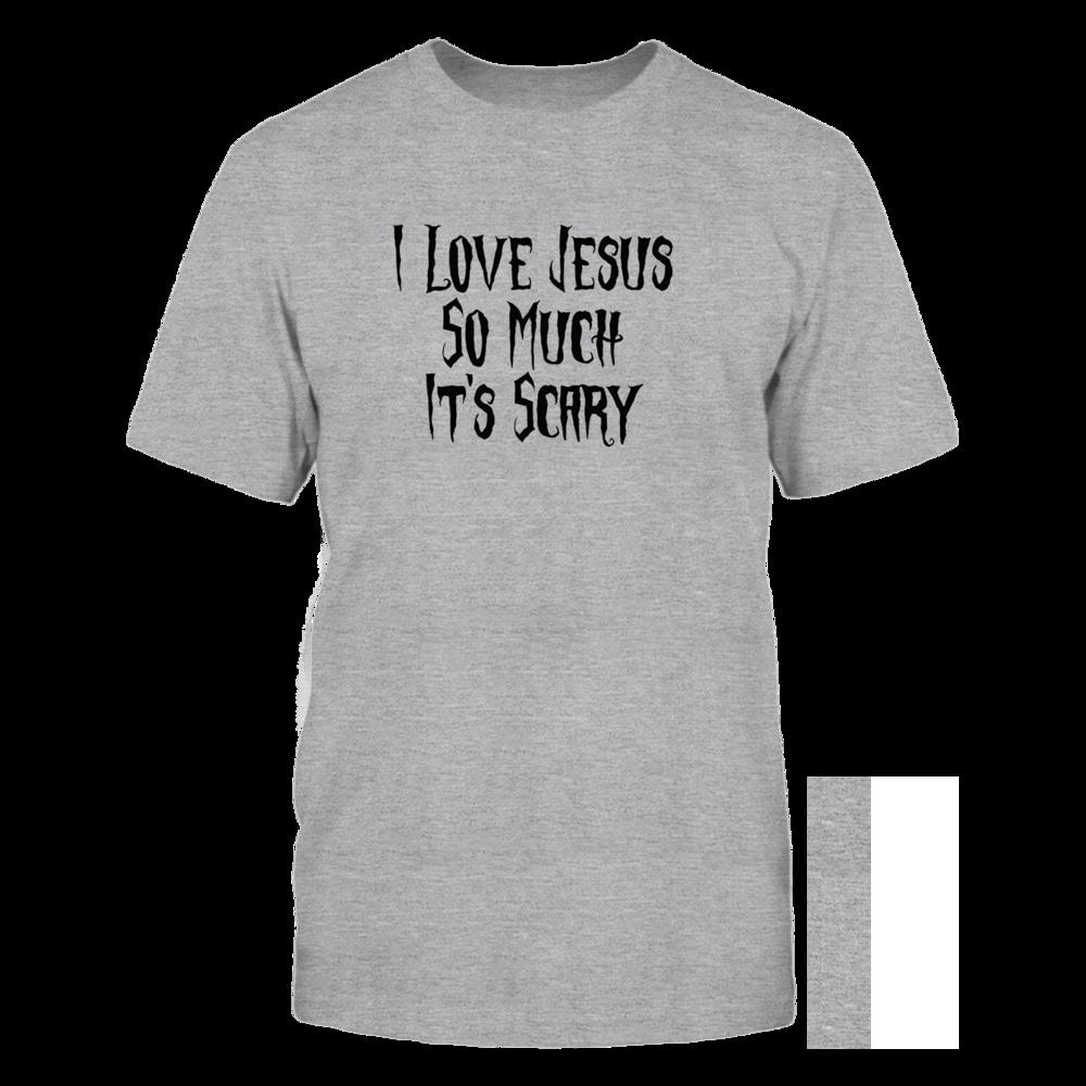 TShirt Hoodie Humorous I Love Jesus FanPrint