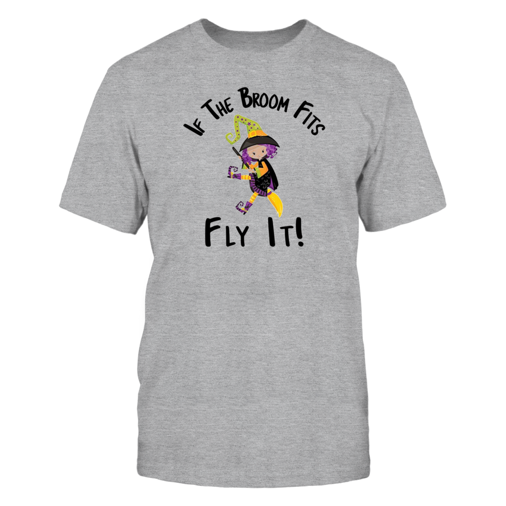 TShirt Hoodie If The Broom Fits Ride It Witch FanPrint