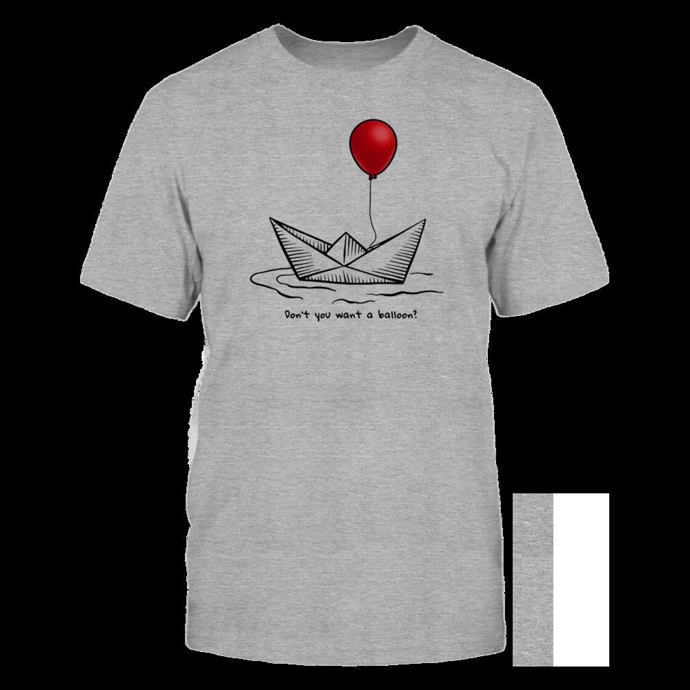 TShirt Hoodie Red Balloon Horror Halloween T-shirt FanPrint