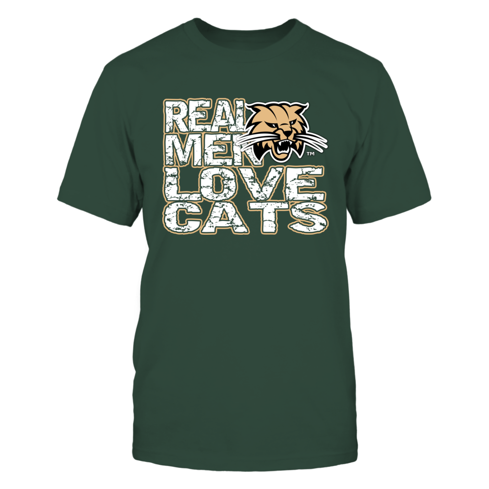 Ohio Bobcats - Real Men Love Cats Front picture