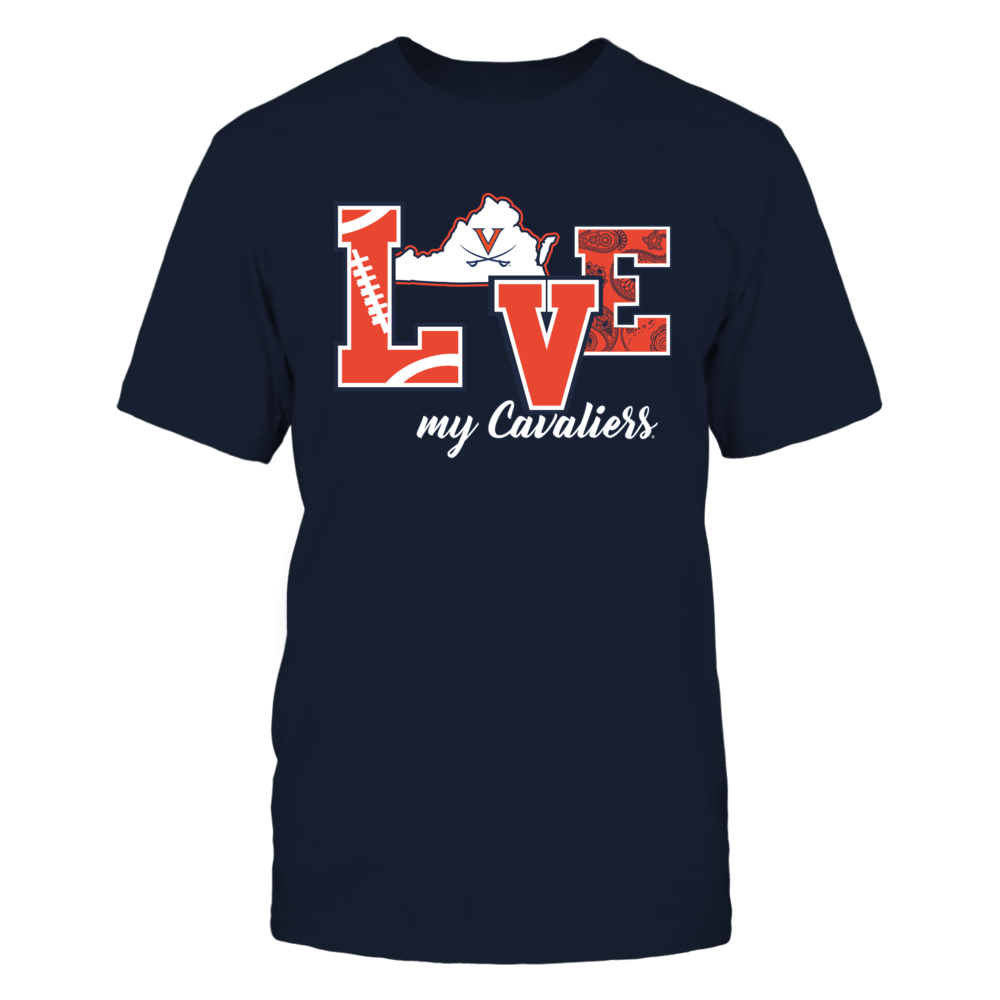 Virginia Cavaliers - Love My Cavaliers Front picture