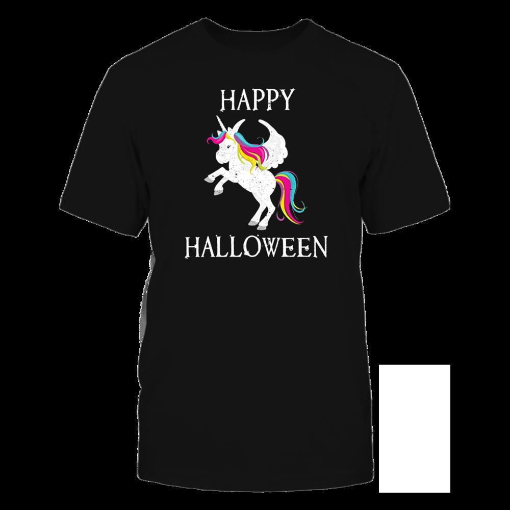 TShirt Hoodie Happy Halloween Unicorn Shirt FanPrint