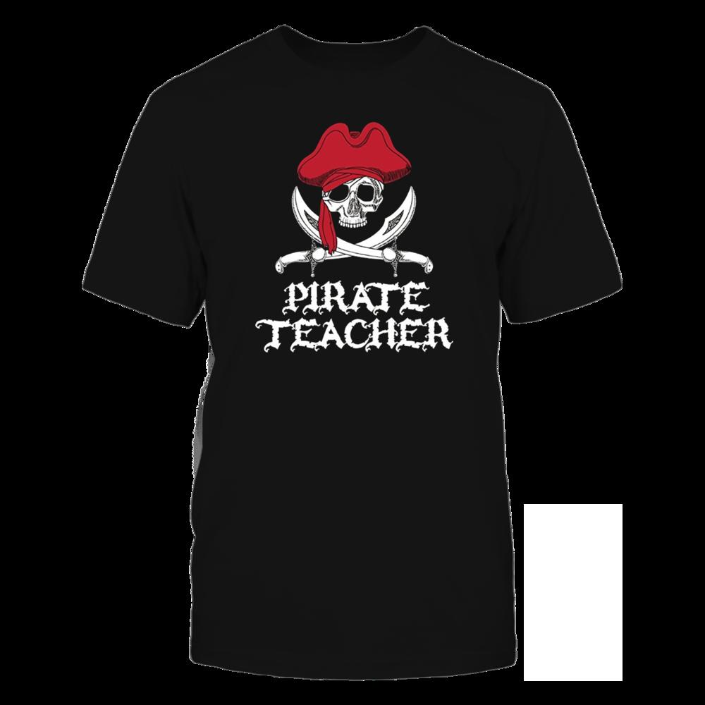TShirt Hoodie Pirate Teacher-Jolly Roger Skull FanPrint