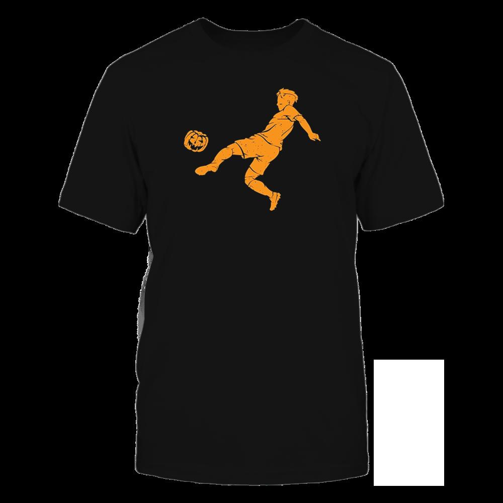 TShirt Hoodie Soccer Halloween Pumpkin T-Shirt FanPrint