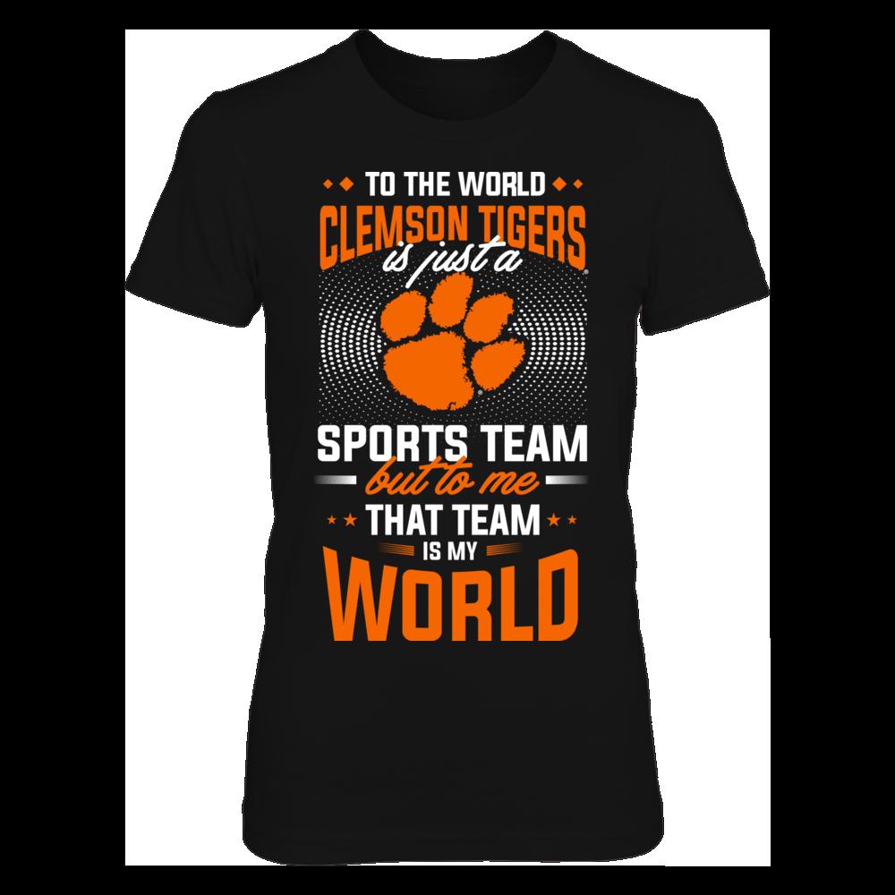 Clemson Tigers CLEMSON TIGERS ARE MY WORLD FanPrint