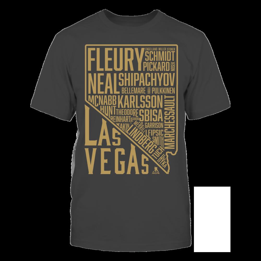 Marc-Andre Fleury Las Vegas State Outline FanPrint