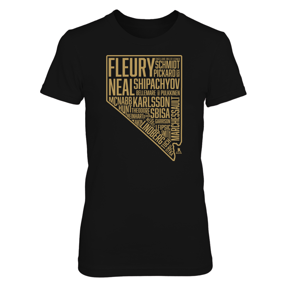 Marc-Andre Fleury State Outline Nevada FanPrint