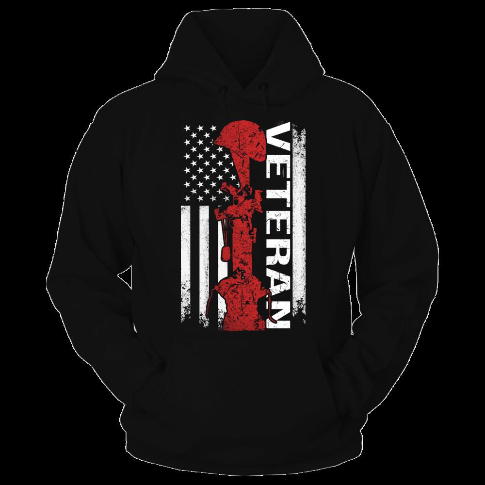 TShirt Hoodie america flag veteran day FanPrint